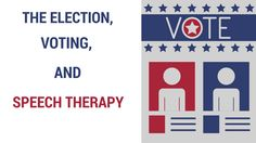 Use voting or the election to make your speech therapy person-centered! See tons of language or cognition ideas.
