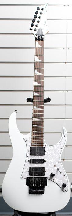 White Ibanez Electric Guitar http://www.pawnri.com/