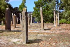 The Isle of the Dead, off Port Arthur, Tasmania. Over 1700  convicts and prison guards buried on this tiny island.
