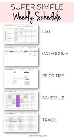 Want to figure out how to get stuff done and plan your week productively? So you can accomplish your goals Stay focused on the right things And knock out your to-do list Ready for this simple… To Do Planner, Planner Pages, College Planner, 2015 Planner, Time Planner, Project Planner, College Tips, Monthly Planner, Planner Template