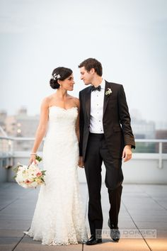 When going for a modern, urban feel for your wedding, take a page out of this stunning bride's book and go with NYC all the way. Not only does Manhattan produce some of the most lovely weddings, but it holds some of the best wedding vendors in the world - like Brian Dorsey Photography, who…
