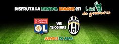Lyon vs Juventus -  Liga: Europa League - Cuartos de Final Fecha: 03/04/14  Hora: 13:05 Hrs