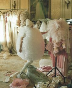 'A Magic World'Olga Sherer by Tim Walker for Vogue Italia January 2008