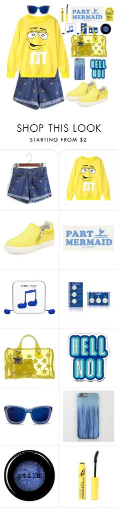"""""""Always be positive"""" by chengyijia ❤ liked on Polyvore featuring Ash, Billabong, Happy Plugs, Ole Henriksen, Mia Bag, Anya Hindmarch, 3.1 Phillip Lim, Stila and Tony Moly"""