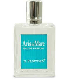 Aria di Mare by Il Profumo captures the scent of the ocean and tropical breezes. A lovely scent that evokes memories of seaside vacations. Notes include: ccean notes, bamboo stalk, java tea leaves, floral herbaceous notes, sweet water mint, yellow wild broom, acacia flowers, sand white lily, yellow rose, tiare, and musk