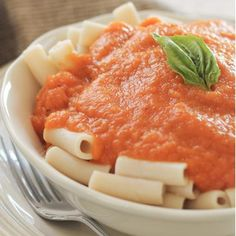 Roasted Red Pepper and Parsnip Sauce with Parmesan and Basil