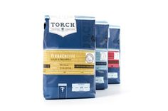 Unique Packaging Design, Torch Coffee Roasters #Packaging #Design (http://www.pinterest.com/aldenchong/)