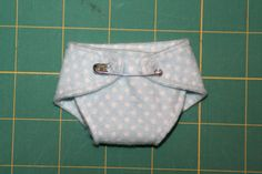 Tutorial for sewing diapers for preemies and micro preemies (and dolls, I guess)
