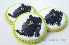 How to Train a Dragon Cookies