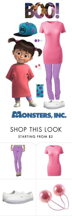 monsters inc boo by destinee miller15 on polyvore featuring disney see - Boo Halloween Costumes