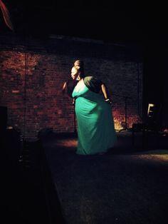 Grande' on stage