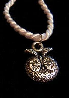 Silver Owl Head Necklace by annettesexpressions on Etsy, $12.00