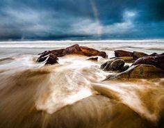 Beautiful ocean shot from Moggs Creek on the Great Ocean Road in Victoria. Fantastic pic courtesy of @jamesmcphotography #liveinvictoria #victoria #vic #moggscreek #aireysinlet #lorne #greatoceanroad #gor #beach #sea #ocean #surf #waves #rocks #longexposure #rainbow #beautiful #scenic #nature #coast #love #australia #liveinaustralia by liveinvictoria