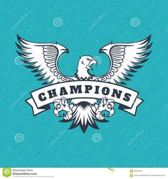 Eagle Logo Emblem Template Mascot - Download From Over 52 Million High Quality Stock Photos, Images, Vectors. Sign up for FREE today. Image: 59227670