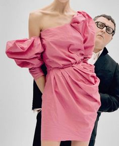 Genius draping - Alber Elbaz at work for Lanvin