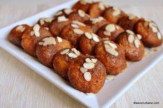 Cheesecakes, Doughnut, Almond, Food And Drink, Cooking Recipes, Pasta, Yummy Food, Baking, Ethnic Recipes