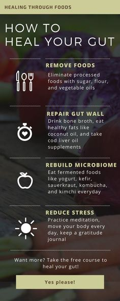 4 Steps To Heal Your Gut Effectively