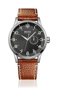 Men's watch 'H2006' in aviator style, Assorted-Pre-Pack