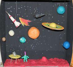 Спутники солнечной системы, Астрономия для детей, солнечная система из пластилина, пластилиновый космос, зарядка для юных космонавтов