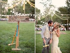 The best wedding lawn games. Read more - http://www.hummingheartstrings.de/?p=11463, Photo: Char Photography