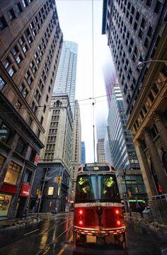 Financial District in Toronto Toronto Street, Downtown Toronto, Toronto City, Visitar Canada, Ottawa, Places Around The World, Around The Worlds, Visit Toronto, Canada Eh
