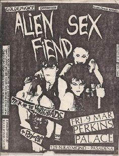 1980s underground flyer