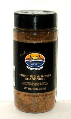 Carl's Gourmet All Natural Prime Rib & Roast Seasoning - 16 oz Pumpkin Spice Coffee, Spiced Coffee, Herb Recipes, Pot Roast Recipes, Prime Rib Roast, Low Carb Vegetables, How To Grill Steak, Food Words, Soups And Stews