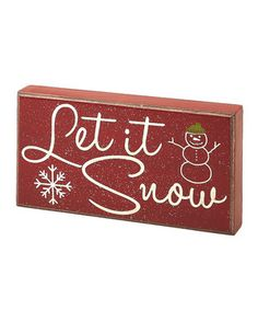 Sweeten décor with this charming holiday box sign that offers a seasonal sentiment. A lovely way to accent a table or wall, it's sure to inspire a cozy and welcoming atmosphere while adding spirited whimsy to any Christmas collection.