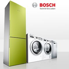 High-quality home appliances by German brand BOSCH - one of the best brands in Europe!