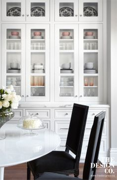custom kitchen, whit