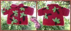 Crochet Hawaiian Shirt www.facebook.com/fromyinztoyall