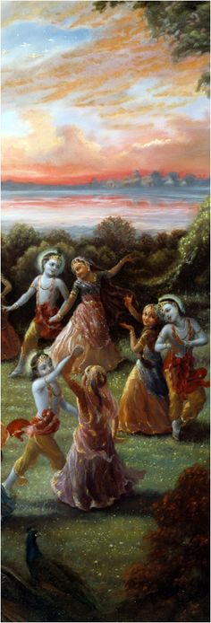 The gopī associates of Kṛṣṇa, who assemble in the place where Kṛṣṇa is appearing, are from different groups. Most of the gopīs are eternal companions of Kṛṣṇa. As stated in the Brahma-saṁhitā, ānanda-cin-maya-rasa-pratibhāvitābhiḥ: in the spiritual world the associates of Kṛṣṇa, especially the gopīs, are the manifestation of the pleasure potency of Lord Kṛṣṇa. They are expansions of Śrīmatī Rādhārāṇī. But when Kṛṣṇa exhibits His transcendental pastimes within the material world in some of…