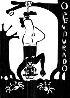 O Pendurado - Tarô. Por Pedro Índio Negro.