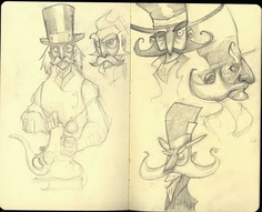 mad hatter facial hair possibility
