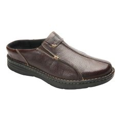 88f54f873e Men's Drew Jackson Mule - Brown Leather Clogs Drew Shoes, Men Slides, Us Man
