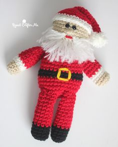 Crochet Santa Claus - Repeat Crafter Me