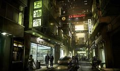 China Shops from Deus Ex: Human Revolution