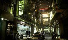 China Shops from Deus Ex: Human Revolution