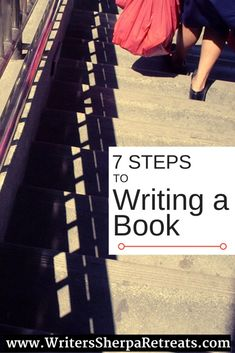 If you've never written a book before, you may be wondering where to start, how to proceed, and what to do next. Here are the seven steps to writing a book. Writing Humor, Memoir Writing, Book Writing Tips, Fiction Writing, Writing Ideas, Writing Help, Writing Binder, Writing Process, Writers Notebook