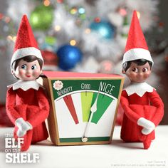 Nice-o-meter | Elf on the Shelf Ideas
