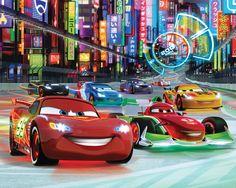 disney cars wall mural lightning mcqueen bernoulli xxl photo wallpaper