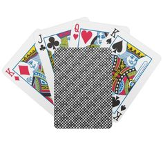 Fancy Art Styles Playing Cards
