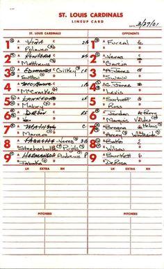 Batting Order Baseball Wikipedia within Baseball Lineup Card Template - Professional Templates Ideas Best Templates, Card Templates, Baseball Mom, Batting Order, Place Card Template, Birthday Cards For Her, Fastpitch Softball, Softball Pitching, Amigurumi