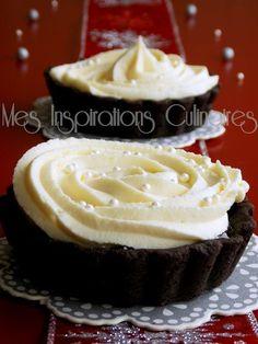 Ganache au chocolat blanc Creme Dessert, Number Cakes, Sweet Sauce, Pastry Cake, Base, I Love Food, Macarons, Yummy Treats, Chocolate