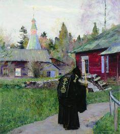Михаил Васильевич Нестеров. Вечерний звон. 1910