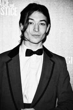 EZRA MILLER. this young man is definitely going to become the next johnny depp... OBSESSEDDDDDD.