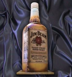 Believe It Or Not...It's A Jim Beam Cake.