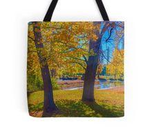 Autumn at the Malmsbury Reserve Tote Bag