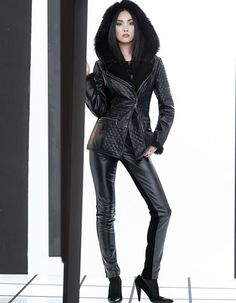 Grandios - luxusriöse Optik und wundervolle Wärme in einer Jacke!