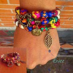 Guapas! Nuevo brazalete en la #ComunidadEvee para nuestra presentación en @sagradomercadito el próximo 13&14 en el bello #Cholula Puebla. Brazalete montado en Alambre y oro viejo acompañado con bolitas de Palma cuentas de coco ágata cuarzos y más. Cada pieza representa un pedacito de nuestro país. :D Ahí nos vemos! #brazalete #joyeriaartesanal #joyeriamexicana #accesorios #boho #mexicanstyle #artisanjewelry #bohojewelry #handmade #EveeStudio #mexicocreativo http://ift.tt/1PWQf2t